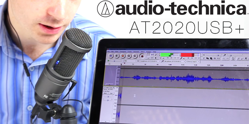 AUDIO-TECHNICA microfono AT2020 USB+