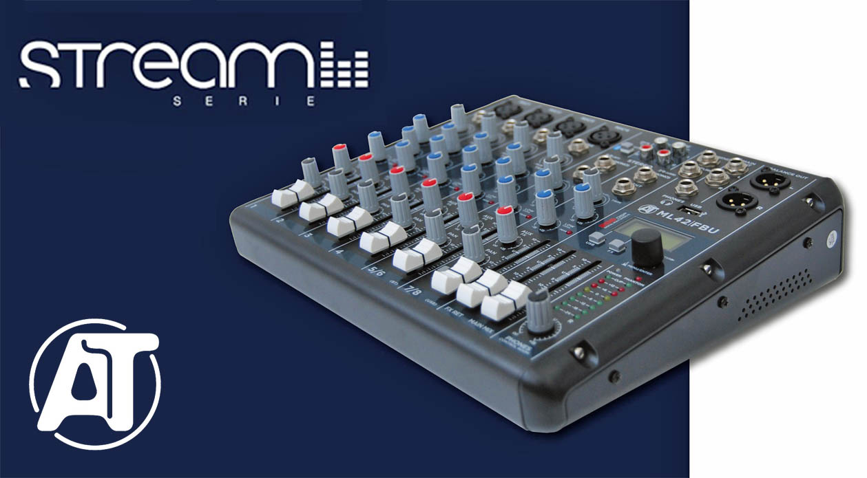 AUDIO TOOLS: Mixer Serie Stream