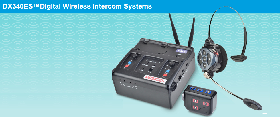 CLEAR-COM Intercom wireless DX340